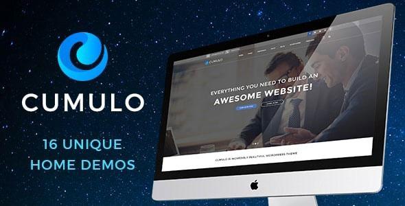 قالب رایگان وردپرس کومولو Cumulo